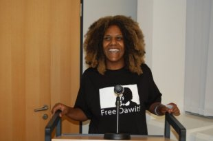 Meron Estefanos (Eritrean Movement for Democracy and Human Rights - EMDHR)