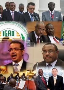 IGAD Logo Collage