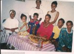 Hana's family in Ethiopia