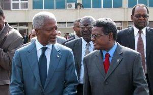 Ali Said Kofi Annan