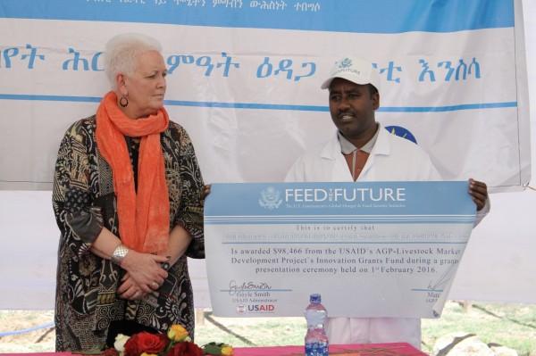 Gayle Smith in Ethiopia