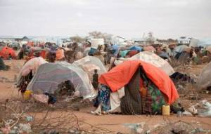Internally displaced Ethiopians