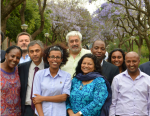 Meron Estefanos, Shiela Keetharuth, Kjetil Tronvoll at Center for Human Rights-Pretoria