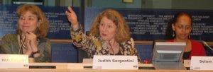 Mirjam van Reisen, Judith Sargentini and Selam Kidane